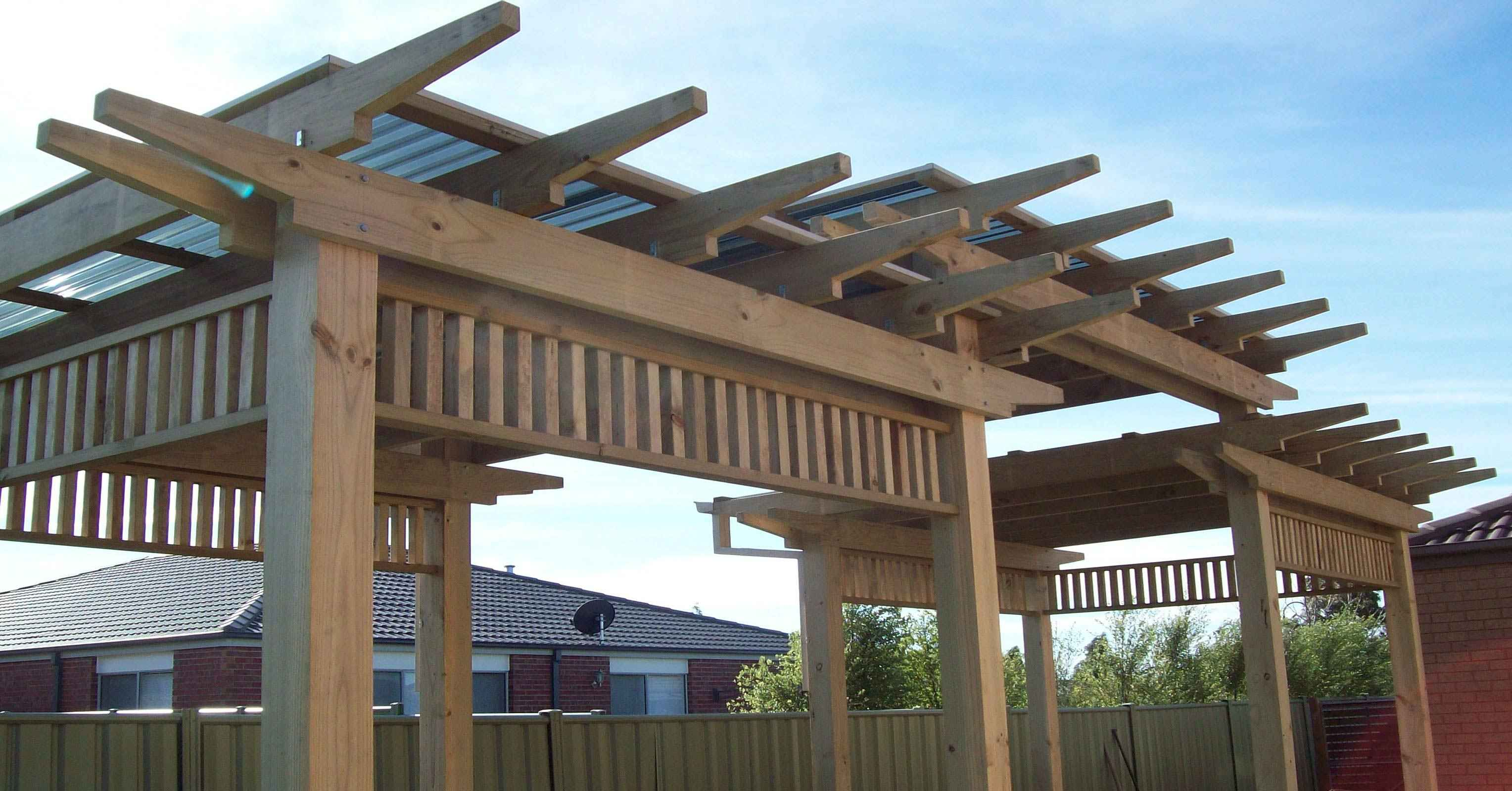 Timber-Pergola-with-Polycarbonate-roofing